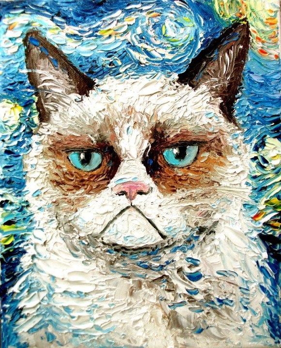 Grumpy Cat Is Still Grumpy, (c) Aja Apa-Soura