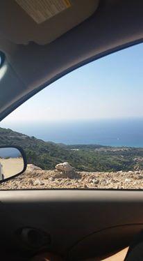 Jahre später in Griechenland: Ich fuhr wieder Auto, und zwar like a Boss.